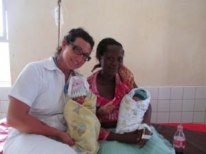 Angel in Uganda