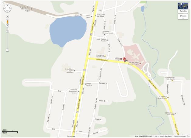 100 Mile District General Hospital